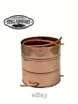 5 Gallon Copper Moonshine Worm Condenser