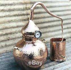 5 Gallon Pure Copper Alembic Still for whiskey, moonshine essential oils