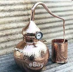 5 Gallon Pure Copper Alembic Still for whiskey, moonshine essential oils by Copp