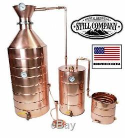 50 Gallon Copper Moonshine Whiskey Still -distillers Kit