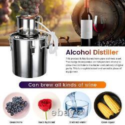 5GAL 20L Copper Distiller Moonshine Ethanol Alcohol Water Still Boiler Home Brew