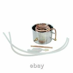 5GAL 20L Copper Distiller Moonshine Still Ethanol Alcohol Water Still Boiler NEW