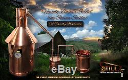 6 Gallon Copper Moonshine Still-Thumper and Worm-Heavy Copper! We build The BEST