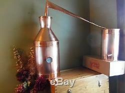 7 Gallon Copper Moonshine Still / copper condensing can By Walnutcreek