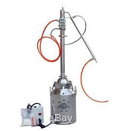 8 Gallon Still boiler with 2Stainless Steel Re-flux Column Moonshine Still Kits