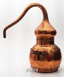 A small vintage 1 litre Copper Still, Alcohol, Distilling, Hooch, Moonshine