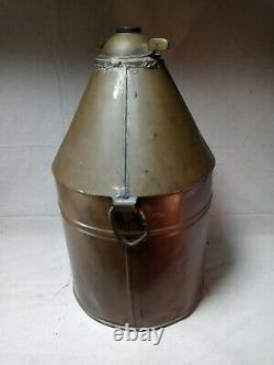 Antique Copper Moonshine Whiskey Still or Jug