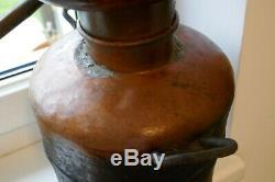 Antique RAR Small Copper Distillery Whiskey Still Moonshine White Lightening
