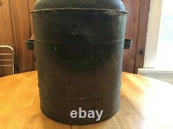 Antique Vintage Copper Moonshine Still Pot Boiler Threaded Top
