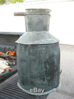 Authentic Original Antique Copper Moonshine Still from the 1930's