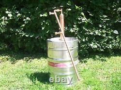 Column 2 Ethanol Moonshine Whiskey, Copper Still Olympic Killer! Moonshine