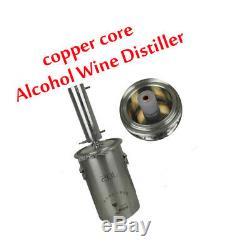 Copper Core Alcohol W-ine Distiller Moonshine Still Brandy W-ine Distillation