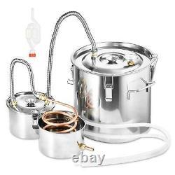 Copper Distiller Moonshine 5GAL 8GAL Ethanol Alcohol Water Still Boiler UK STOCK