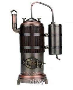 Copper Moonshine Still Alcohol Whiskey Distillator with Distillation time 40min