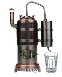 Copper Moonshine Still Alcohol Wine Whiskey Handmade Gift for Boss