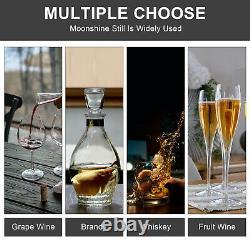 Copper Moonshine Still Brewing Distiller Spirits Water Wine Alcohol Distilling