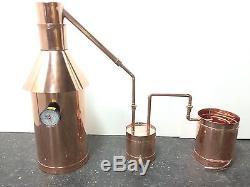 Copper Moonshine Still, Thumper & Worm Ready to Run StillZ 6 Gallon Still