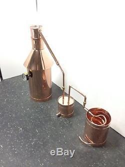 Copper Moonshine Still-Thumper and Worm-Heavy Pot Still StillZ 6 Gallon