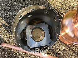 Copper Moonshine Still with Gas Heater Handmade European 5 Liter 1.3 Gallon