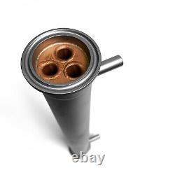 Copper Shotgun Condenser 1.5 inch Length 350 mm Distiller Moonshine Still