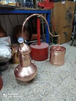 Copper Still Approx 35 Liter Capacity For Moonshine