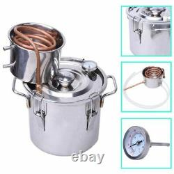 DIY 30 L Litres Home Distiller Moonshine Copper Still Spirits Water Alcohol Oil