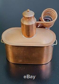 Dollhouse Miniature Vintage Copper Moonshine Still