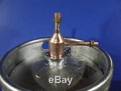 Doubler Thumper Beer Keg Kit whiskey Moonshine Still Head 2 x 1/2 Copper DIY