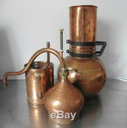 Folding Copper Column Still, 10 Litres, Essential Oils, Moonshine