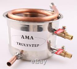 For 3 Pot Moonshine still / Distiller Copper / Stainless Steel Coil Cooling Pot