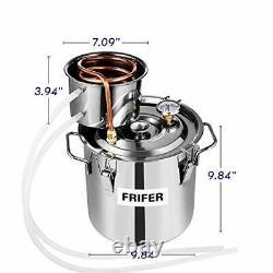 Frifer Moonshine Still 3 Gallon 11 L Alcohol Distiller Copper Tube Moonshine