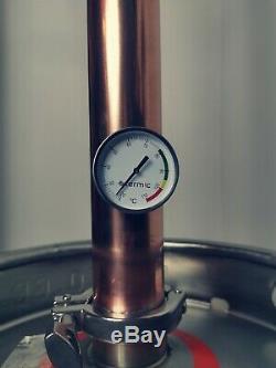 Keg Still Copper Distiller 30l/50l Keg 2inch Column Moonshine. UK STOCK