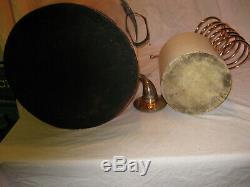 LARGE Antique Copper Boiler Moonshine Still with Coil +Jug 7-8 Gallon Still