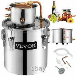 Moonshine 3 GAL 2POTS Alcohol Distiller Copper Wine Maker Water Still Boiler