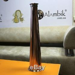 Moonshine Copper Flute Still for Onion head Pot Column (Cones) 2 x 4