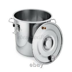 Moonshine Still Alcohol Distiller Copper Tube Home Brewing Kit Stainless Steel