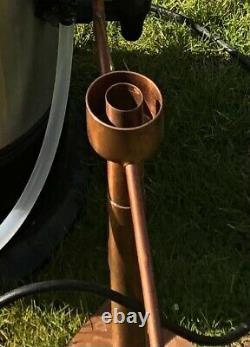 Moonshine still, ethanol copper still, distillation column, reflux, pot still