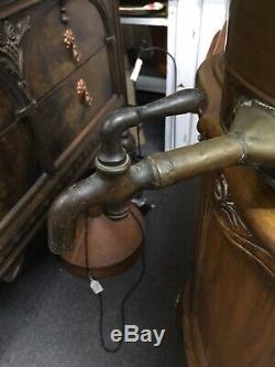 Original Antique Moonshine Old School Copper Whiskey Still