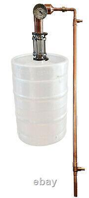 Pot Still, 2 Copper Distiller & Liebig Condenser, Moonshine Alcohol Whiskey Rum