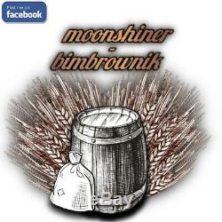 Pot Still Copper Distiller 9L Moonshine Spirits Alcohol Pressure Cooker 28mm