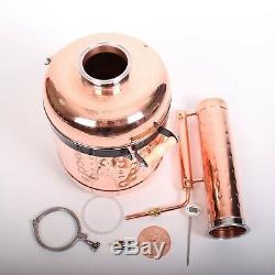 Pot still / Copper moonshine still / 6.3 G / 24 l