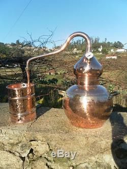 Premium Copper Alembic Moonshine & Whiskey Still with thermometer 10 L 2.5G