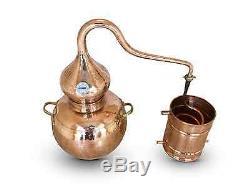Premium Copper Moonshine Alembic Still with thermometer Aprox 20 L 4.5 Gallon