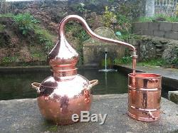 Premium Copper Moonshine and Whiskey Alembic Still Aprox 20 L 4.5 Gallon