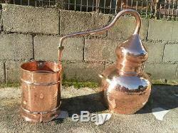 Premium Copper Moonshine and whiskey Alembic Still 10 L 2.5 Gallon