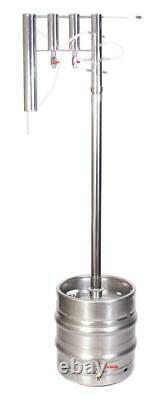 Professional DISTILLER 30 L stainless steel STILL moonshine brew copper alcohol