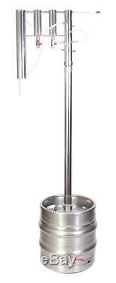 Professional DISTILLER 50 L stainless steel STILL moonshine brew copper alcohol