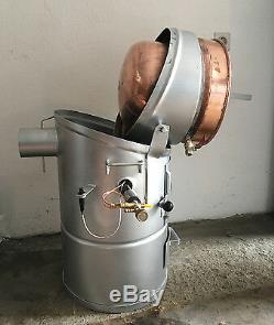 Professional Moonshine Still 20 Liter 5.2 Gallon European Alcohol Distillery