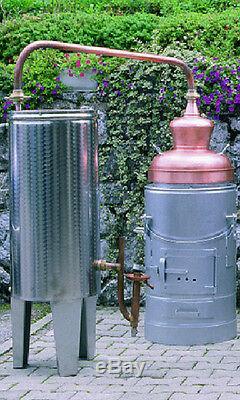 Professional Moonshine Still European Homebrew Distillery 10 Liters 2.6 Gallon