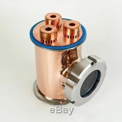 Red Copper Pro Bubble Plate For Distillation Reflux Column Moonshine Still New